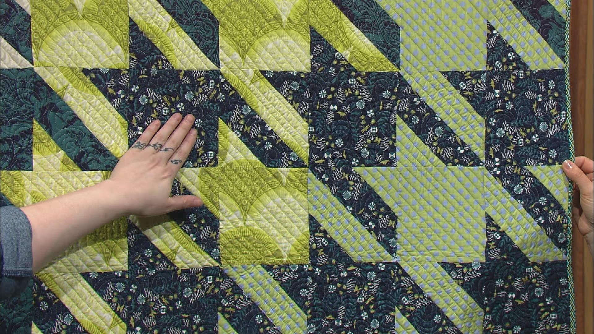 Video quilts from the house of tula pink part 1 watch for Modern house quilts