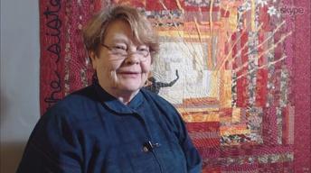 Nancy's Corner - Diane Wright, Aborginal Textiles