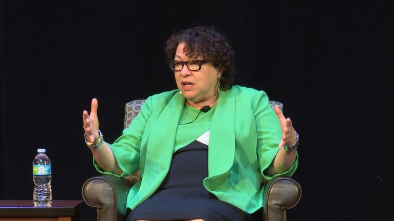 A Conversation with Justice Sonia Sotomayor