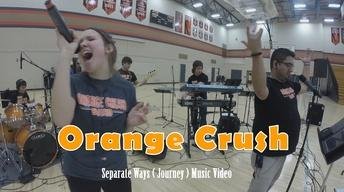 """Orange Crush Covers """"Separate Ways"""" by Journey"""