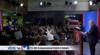 Glenn Thompson - Kerith Strano Taylor: 5th District Debate