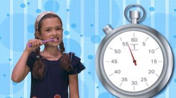 BRUSH! - Clock