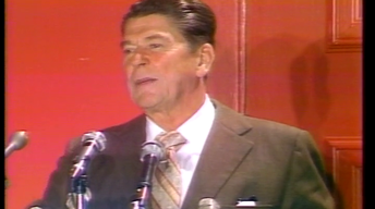 Lunch with Ronald Reagan