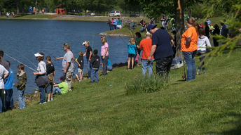 Special Populations Fishing at Bleyer Lake for 30 Years