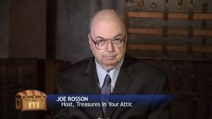 Antiques Roadshow Knoxville Behind the Scenes: Joe Rosson