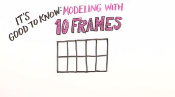 Modeling with a Ten-Frame | Kindergarten