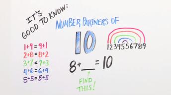 Number Partners of 10 | Kindergarten