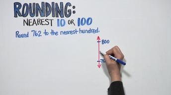 Rounding: Nearest 10 or 100   Grade 3