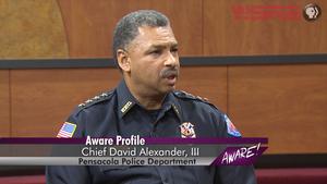 Pensacola Police Chief David Alexander, III