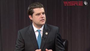 US Representative Matt Gaetz