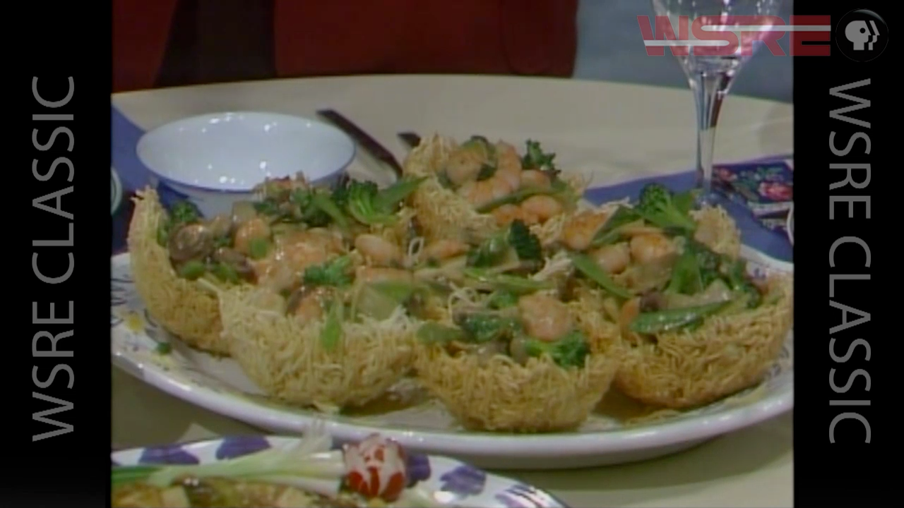 Gourmet Cooking with Earl Peyroux: Stir Fry Shrimp and Chinese Vegetables
