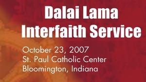 Dalai Lama Interfaith Service