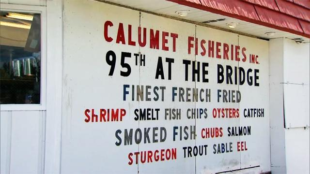 Video calumet fisheries watch check please online for Boston fish market chicago