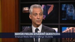 April 22, 2015 - Students Face to Face With Mayor Emanuel