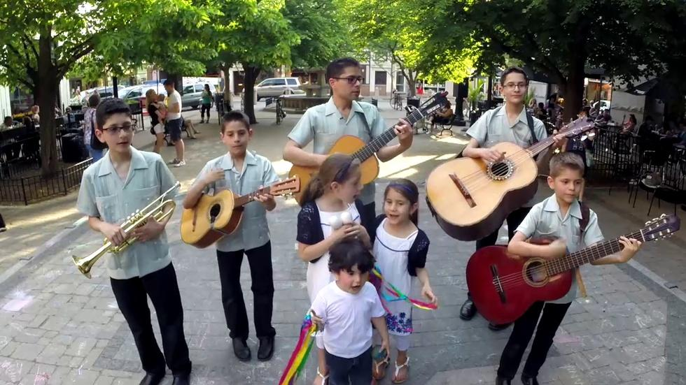 Chicago Family Band Makes Beautiful Music as Cielito Lindo image