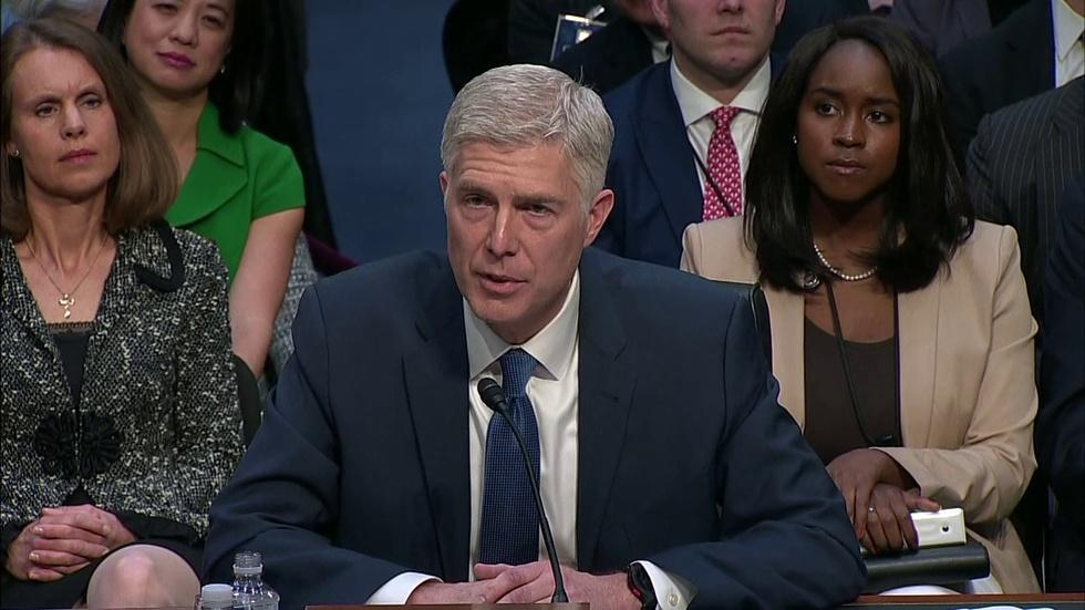 US Supreme Court Nominee Neil Gorsuch Grilled on Day 2  image
