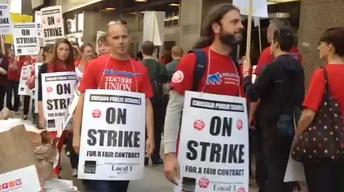 September 10, 2012 - Web Extra: Chicago Teachers Picket