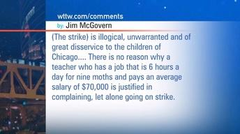 September 13, 2012 - Viewer Mail: Chicago Teachers' Strike