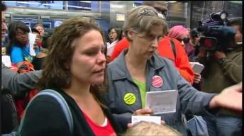 September 18, 2012 - Web Extra: Parents Storm Board of Ed
