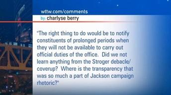 July 12, 2012 - Viewer Mail: Jesse Jackson Jr.'s Extended...