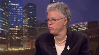 December 05, 2012 - Cook County Board President Preckwinkle