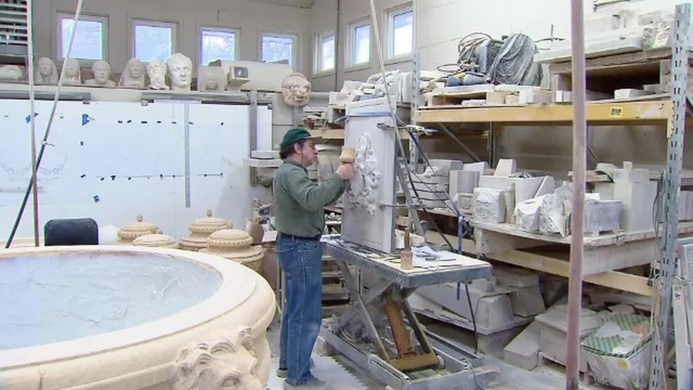 January 22, 2013 - Master Stone Carver Walter Arnold image