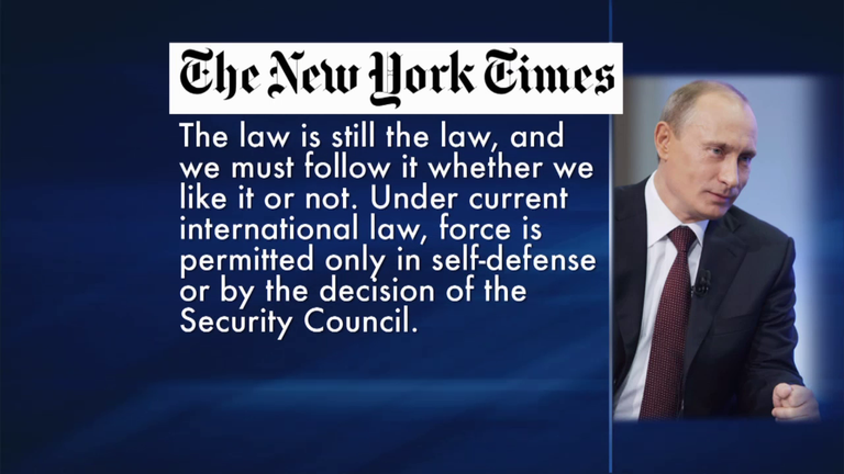 a plea for caution from russia Recent events surrounding syria have prompted me to speak directly to the  american people and their political leaders it is important to do so at a time of.