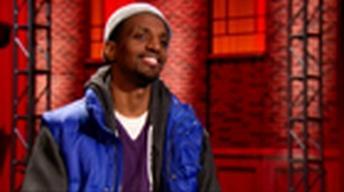 Hip Hop poet J. Ivy