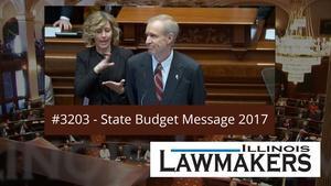 S32 E03: Governor Bruce Rauner's Budget Message