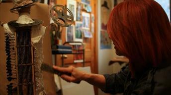 Detroit Performs Clip: Multimedia Artist Diane Marie Kramer