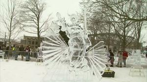 Ice Sculptures, Cars, and Sliders!