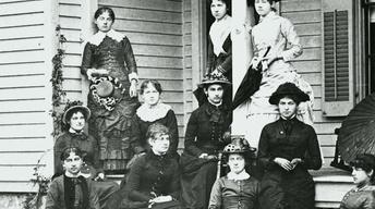 Pioneer Family on Van Hoosen Farm