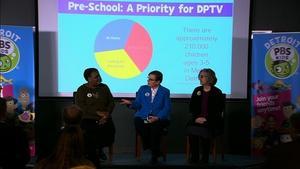 Detroit PBS KIDS Launch Event