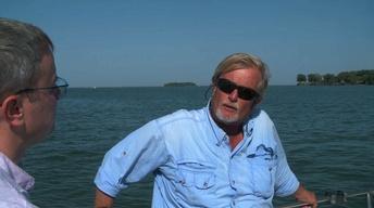 Captain Paul on Lake Erie