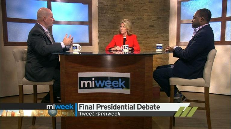 Final Presidential Debate / GOP Divide / Flint Water