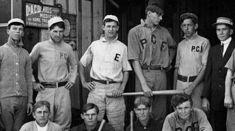 Vintage baseball, Dreamplex, Lady Lake, Zach Marks, Mini Cow