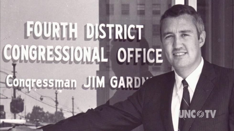 J. Gardner recalls supporting Reginald Hawkins for Gov. - 2I image
