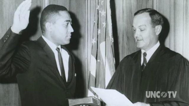 H. Frye recalls UNC Law School first African American image