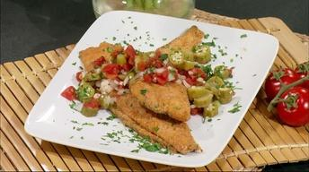 Simple Cooking: Parmesan Pecan Fried Catfish