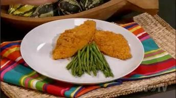 Dijon Crunchy Flounder: Simple Cooking