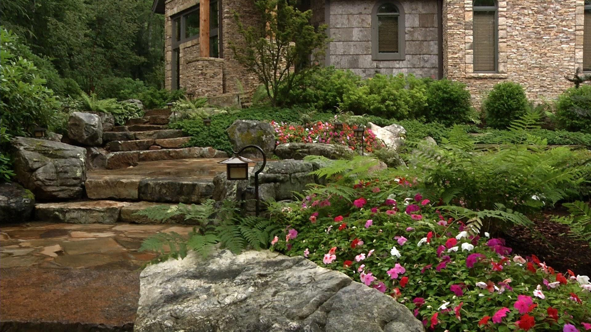 Video award winning landscape and more watch in the for Award winning backyard designs