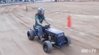 My Home NC: Lawnmower Racing Love