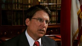 Gov. Pat McCrory Interview image