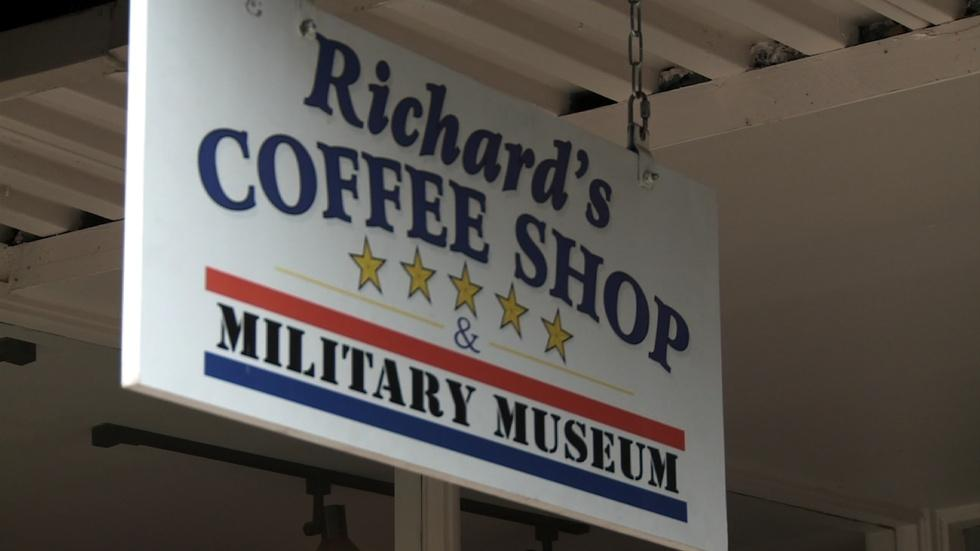 Living Military Museum at Richard's Coffee Shop image