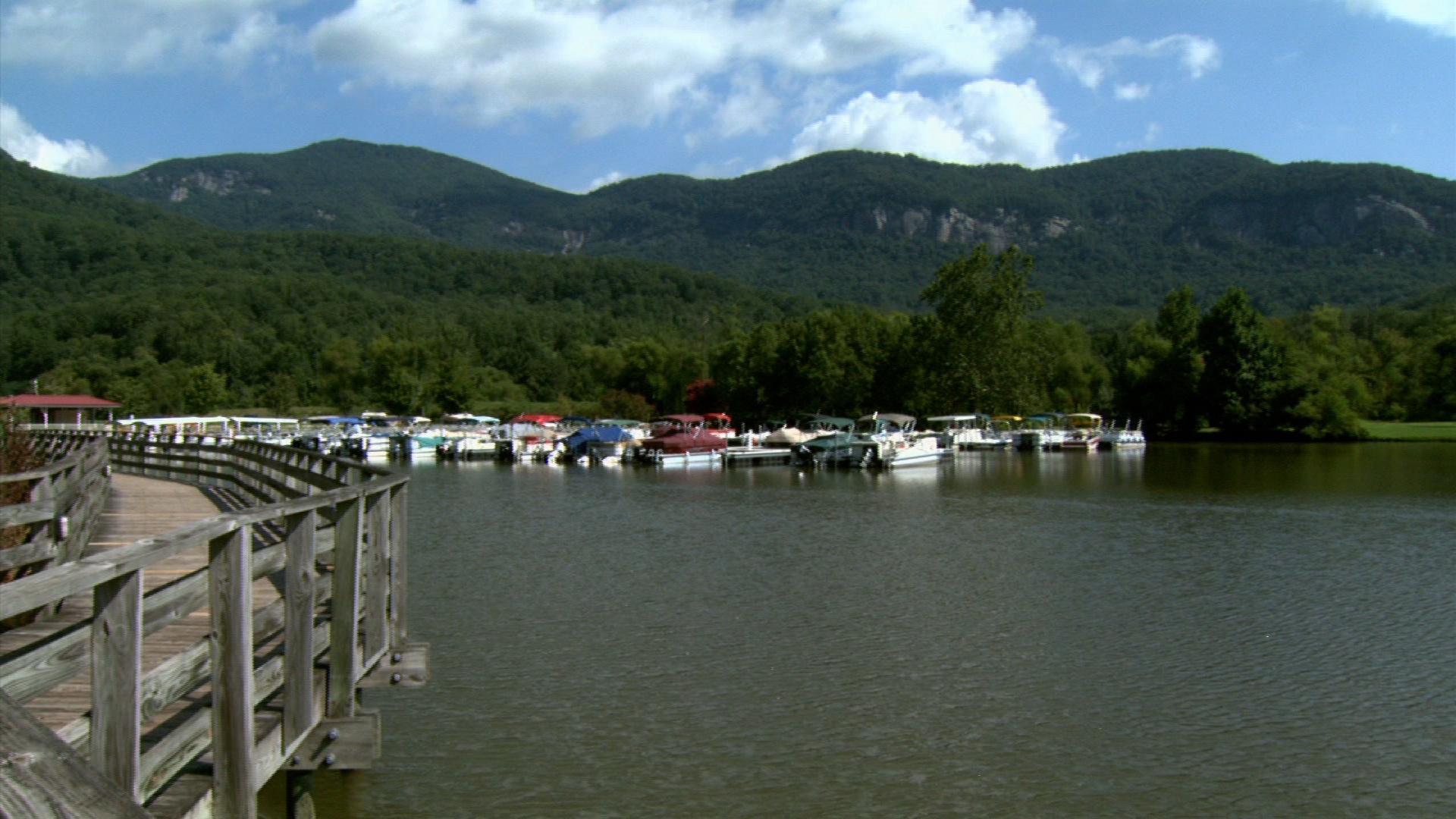 Lake Lure Boat Tour image