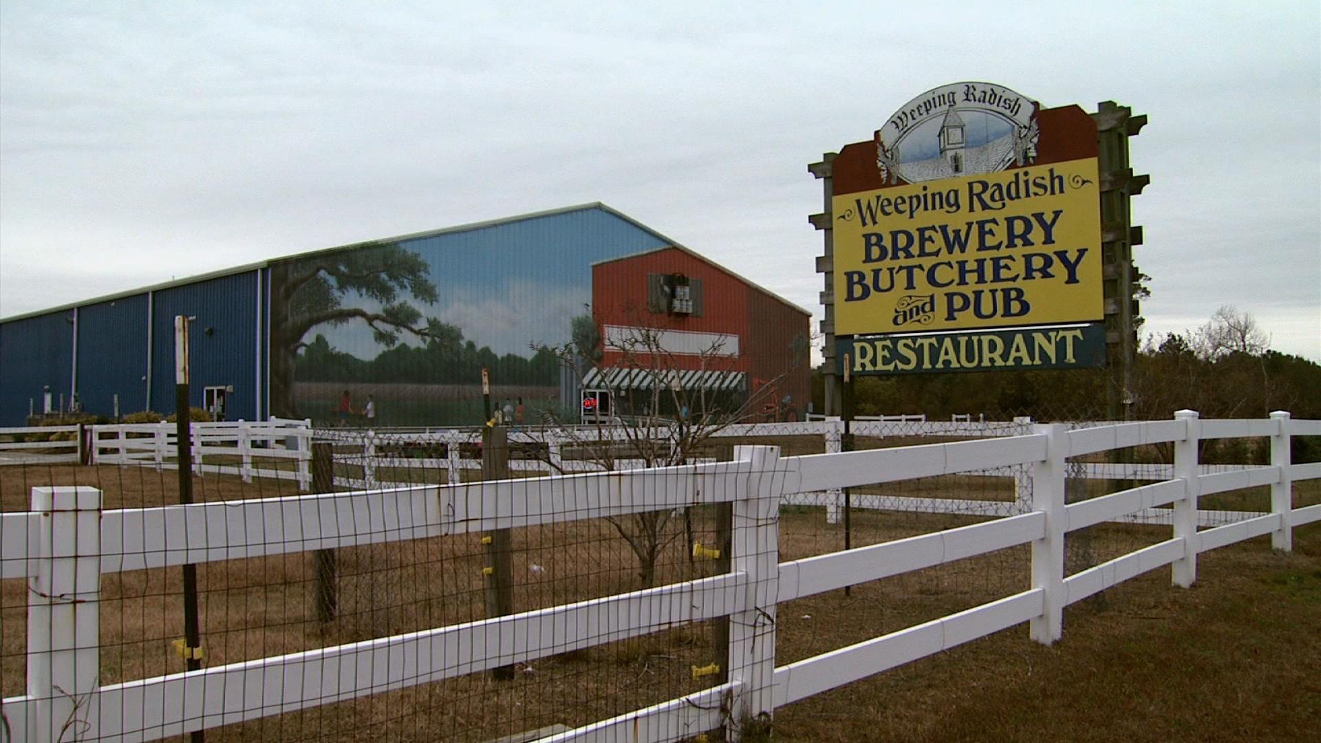 Weeping Radish Brewery; Grandy, NC image