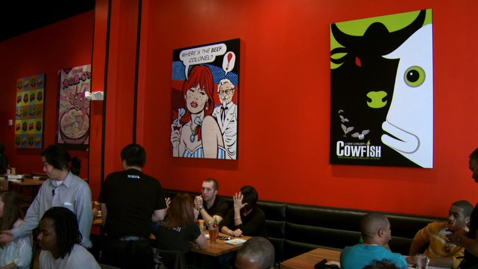 Cowfish Sushi Burger Bar image