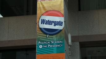 Watergate Exhibit at NC Museum of History image