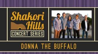 Shakori Hills Concert Series:  Donna the Buffalo