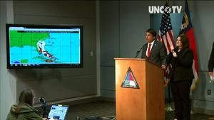 100516 Live Stream: NC Governor's Weather Update